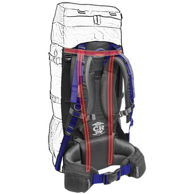 Подвесная система для рюкзака CR Carry System