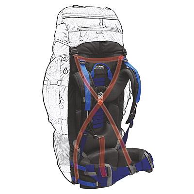 Подвесная система рюкзака Trial Pro - X-VAR TORSO system