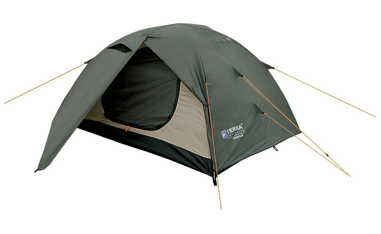Терра Инкогнита  Двухместная палатка Omega 2/2 Camo